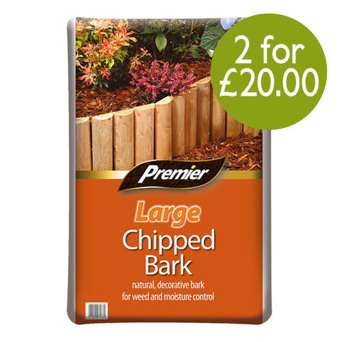 See more information about the Premier Large Chip Bark 100L