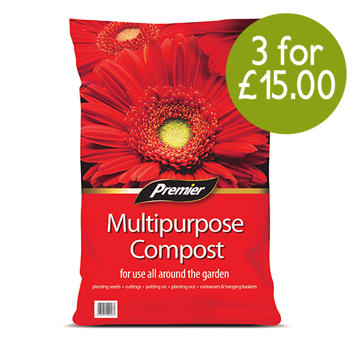 See more information about the Premier Multi Purpose Compost 50L