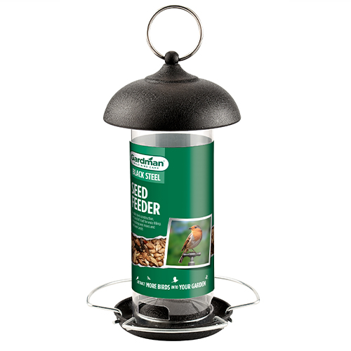 See more information about the Black Steel Large Seed Feeder