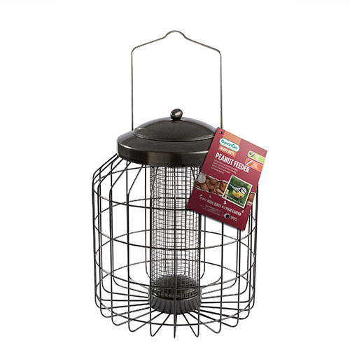 See more information about the Heavy Duty Squirrel Proof Peanut Feeder