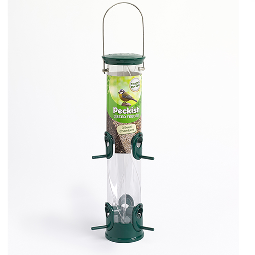 See more information about the Peckish All Weather 3 Seed Feeder
