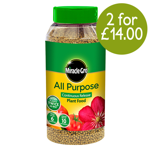 See more information about the Miracle-Gro All Purpose Plant Food 1kg