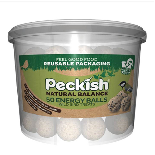 See more information about the Peckish Natural Balance Energy Balls Tub