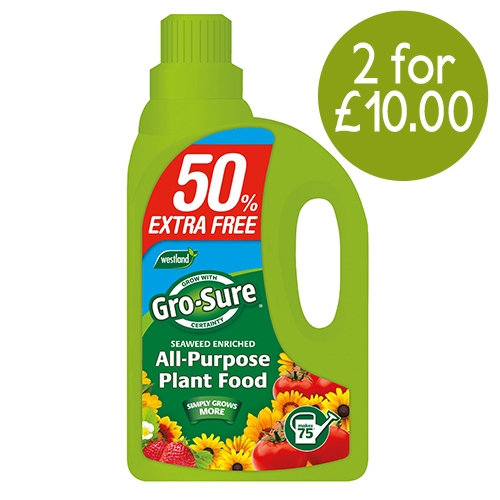 See more information about the Gro-Sure All Purpose Plant Food 1L