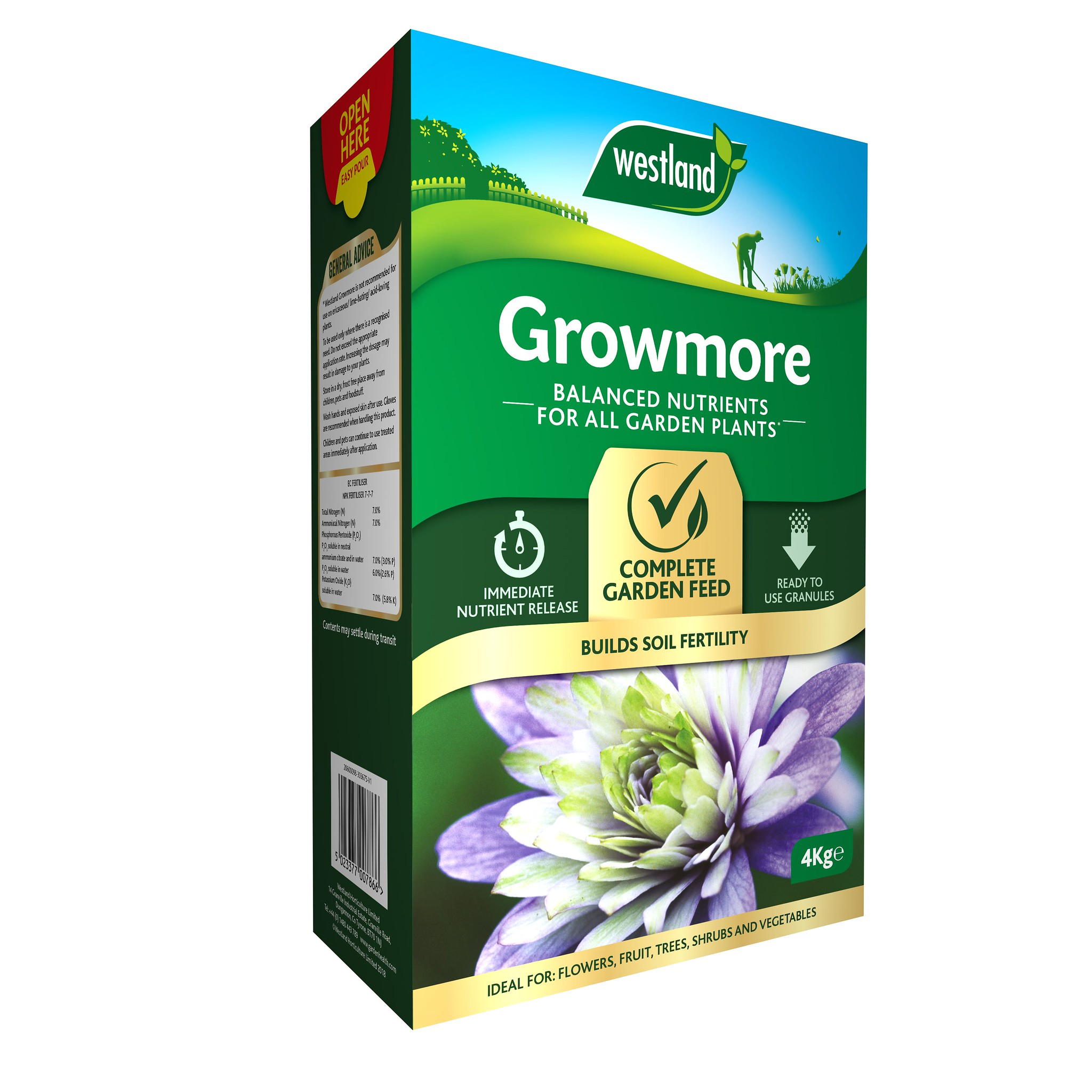See more information about the Growmore 4kg