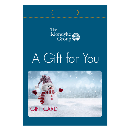 See more information about the Christmas Gift Card - Snowman